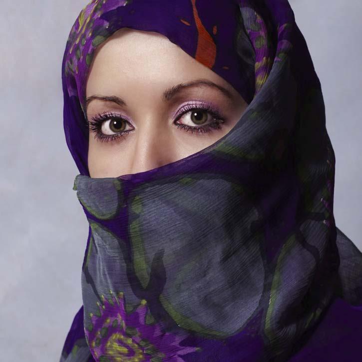 a paper on women wearing veils